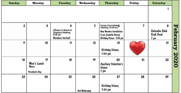 February 2020 Colombo Club Newsletter 7