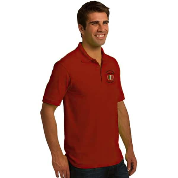 Cent' Anni Red Polo Shirt 2