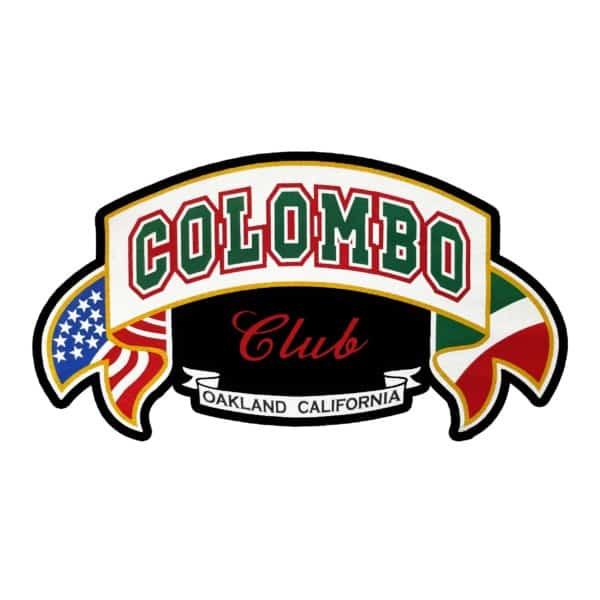 Colombo Club Window Sticker 1
