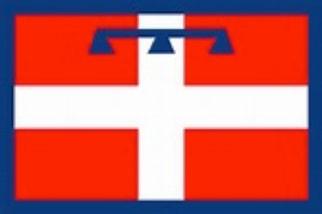 flag of piemonte italy
